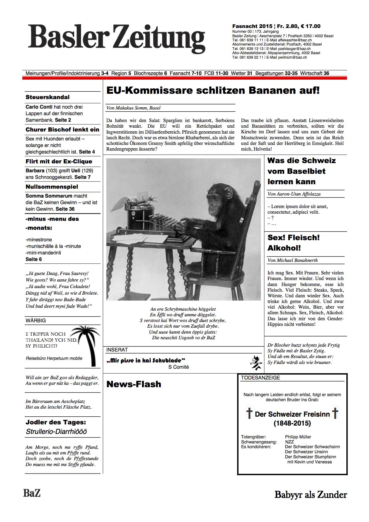 BAZ-Fasnachtsausgabe-2015